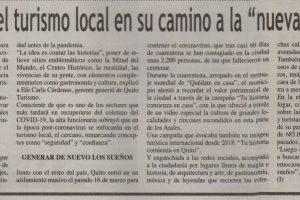Quito se prepara para salir de la pausa en la que se sumió por el coronavirus