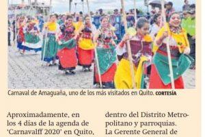 Más de USD 7 millones se quedaron en Quito